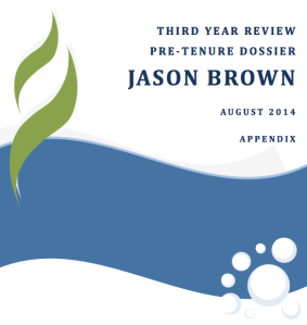 3rd Year Review Cover